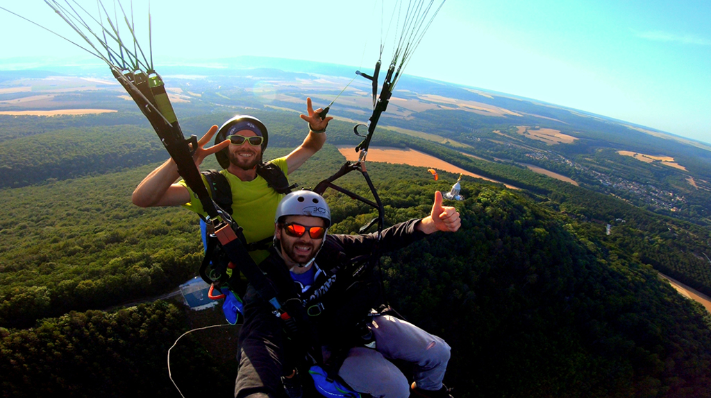 photo parapente biplace client n°4