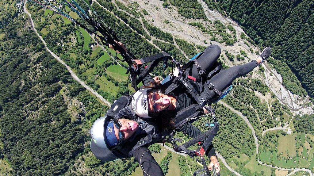 photo parapente biplace client n°5
